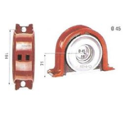 5000242914 Support Bearing Kit,Propeller Shaft